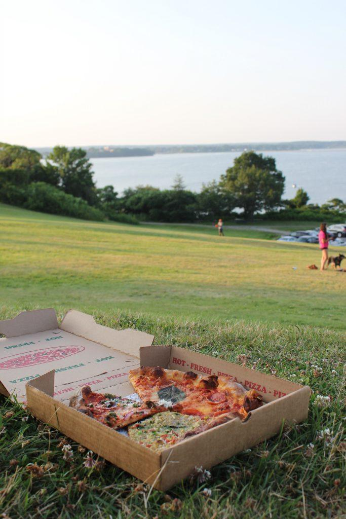 Belleville Pizza at the Eastern Promenade